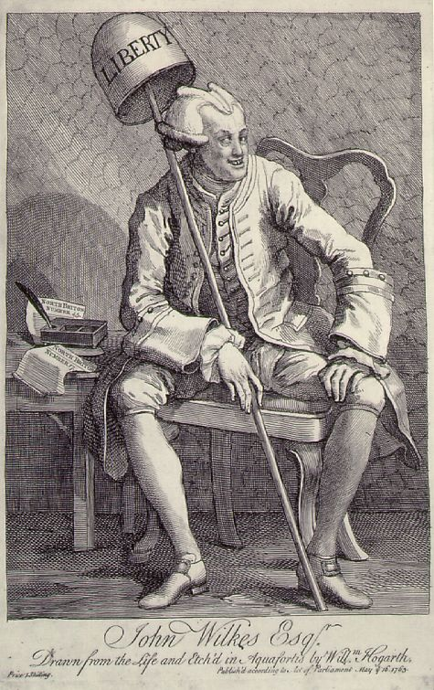 William Hogarth's famous cartoon of Uncle Jack in court.