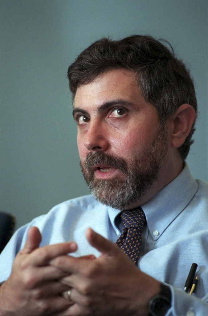 Noted UKIP guru Mr Paul Krugman